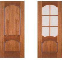 Межкомнатные двери, модель Коралл, покрытие: пленка TECOFOIL