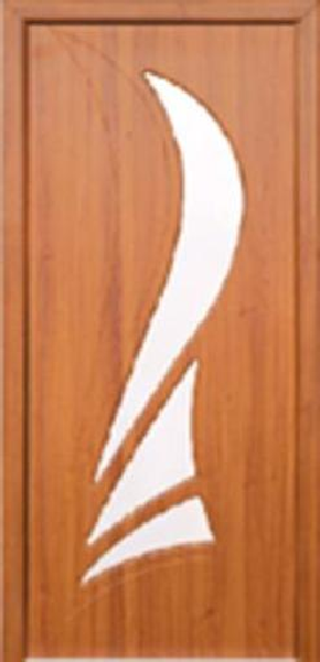 Межкомнатные двери, Неман, модель Корона со стеклом.