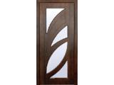 Межкомнатные двери, Неман, модель Пальмира со стеклом.