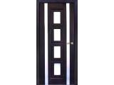 Межкомнатные двери, Неман, модель Рим со стеклом.