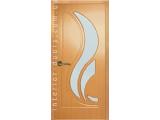 Межкомнатные двери, Неман, модель Сабрина со стеклом.