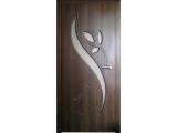 Межкомнатные двери, Неман, модель Тюльпан со стеклом.