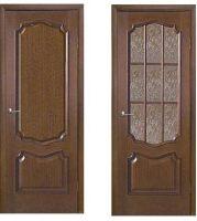 Межкомнатные двери,Премьера венге, бук