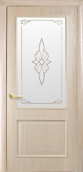 Межкомнатные двери ПВХ, Новый Стиль, коллция Интера DeLuxe Р, Вилла Р с рисунком