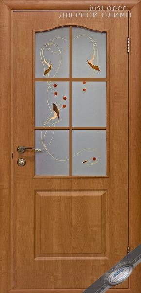 Межкомнатные двери ПВХ, Новый Стиль, коллекция Фортис Р,модель В Р1 с рисунком