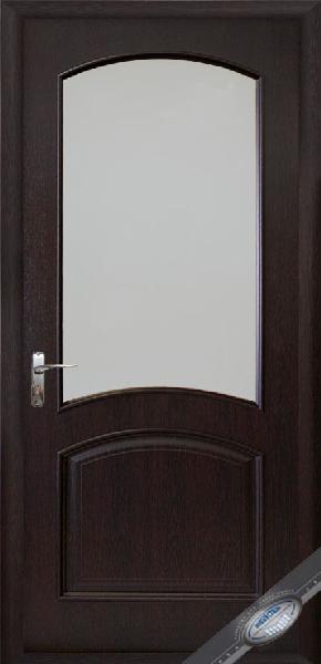 Межкомнатные двери ПВХ, Новый Стиль, коллекция Интера De Luxe, Аве с стеклом