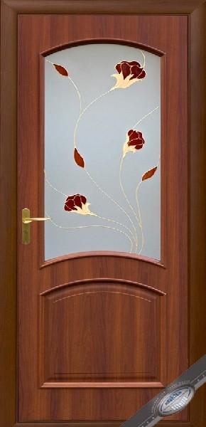 Межкомнатные двери ПВХ, Новый Стиль, коллекция Интера Р, Ave Р1 с рисунком