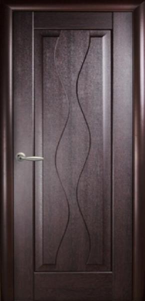 Межкомнатные двери ПВХ, Новый Стиль, коллекция Маэстро, Волна глухая
