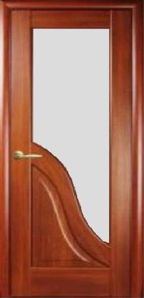 Межкомнатные двери ПВХ, Новый Стиль, коллекция Маэстро, Амата со стеклом