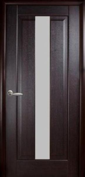 Межкомнатные двери ПВХ, Новый Стиль, коллекция Маэстро, Премьера со стеклом