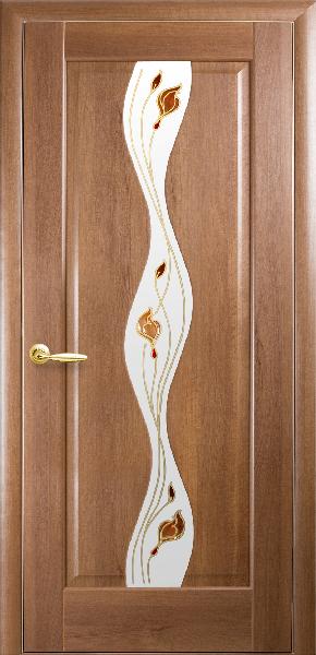 Межкомнатные двери ПВХ, Новый Стиль, коллекция Маэстро Р, Волна Р с рисунком