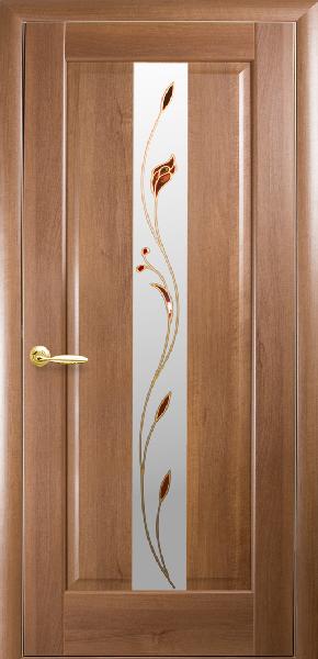 Межкомнатные двери ПВХ, Новый Стиль, кол=ция Маэстра Р, Премьера Р1 с рисунком