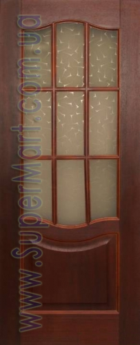 Межкомнатные двери Верона красное дерево в наличии на складе в Киеве. Дверная фурнитура CAM Italy.