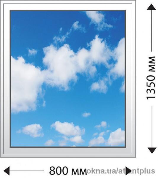 Мы предлагаем Вам глухое одностворчатое окно Classicline 400