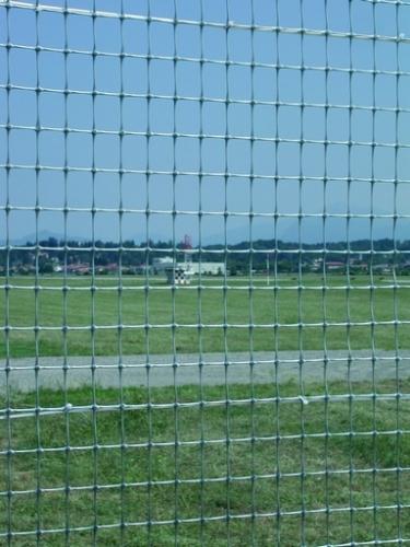 Миллениум, сетка для ограждения и спортплощадок, РЛС, аэропортов, серая, 2х50, Tenax, Италия