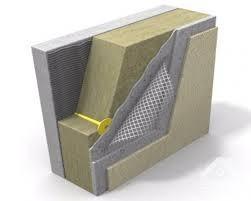 Мінеральна вата для утеплення фасаду ТехноНІКОЛЬ Технофас 100мм
