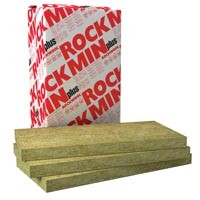 Мінеральна вата Rockwool Rockmin Plus Роквул Рокмін Плюс 50мм