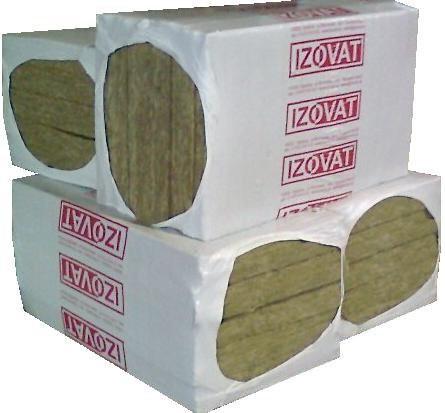 Минеральная Вата ТМ Изоват. Плотность 30 кг/м. куб размер 1000х600