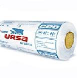 Минеральная вата URSA ПЕНЬКИ 50мм 0,6*18м (10,80м2)