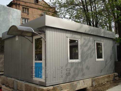 Мини-офис контейнерного типа, модульное здание