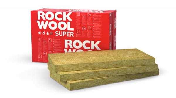 Фото 1 Мінеральна вата Rockwool (Роквул) SUPERROCK (Суперрок) 340816