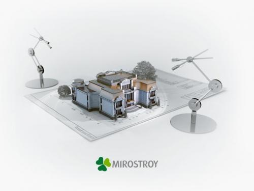 Мирострой - архитектурная визуализация и визуальный маркетинг недвижимости