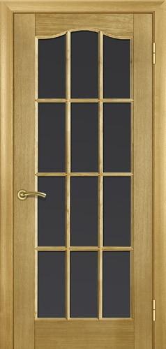 Міжкімнатні двері деревяні, модель 2, шпон дуба. Полотна 60,70,80,90, висота 2м.