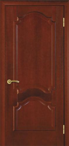 Міжкімнатні двері деревяні. Модель 8 червоне дерево. Виготовлення 14 днів.