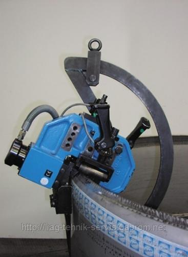 Мобильная формовочная машина MKF 130 для гибки бортов производства фирмы ECKOLD