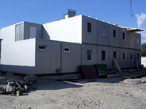 Мобильные модульные здания различного назначения