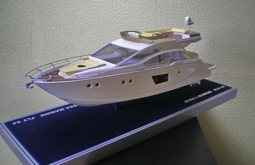 Модель флайбриджевой яхты Sessa Marine sport Fly 54