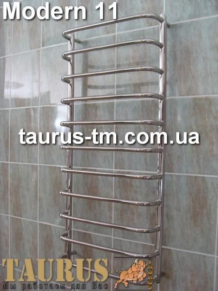 Modern 11 /500 - нержавеющая полотенцесушилка. Изготовление размеров под заказ. Доставка по Украине