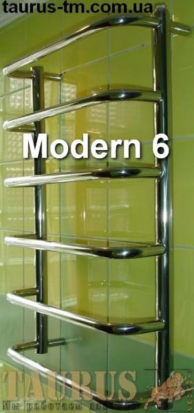 Modern 6 /400 - сушилка для полотенец в ванную комнату. Доставка.