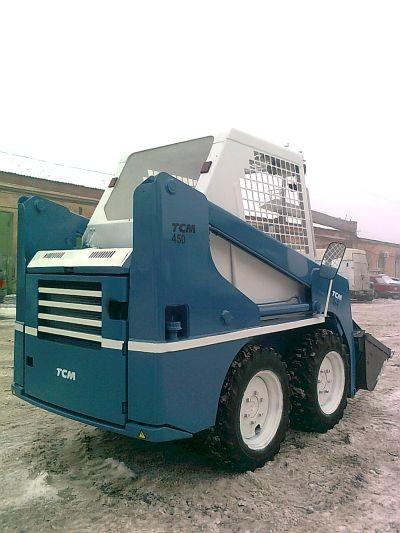 модификация 605 Skid Steer