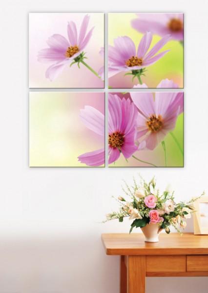 Модульная картина - холст Цветы - 870,00 грн