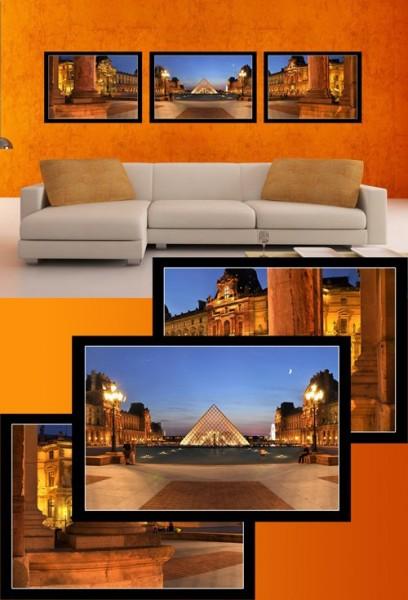 Модульная картина на холсте Египет