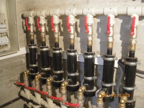 Модульная отопительная установка -250кВ.
