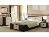 Фото  1 Модульная спальня Доминика - Доминика кровать без каркаса 2050*1850*950 1716717