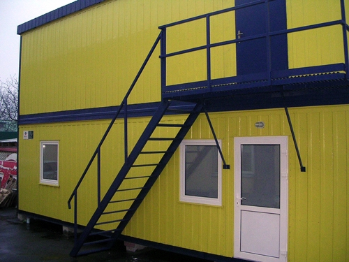 Модульные общежития для рабочих
