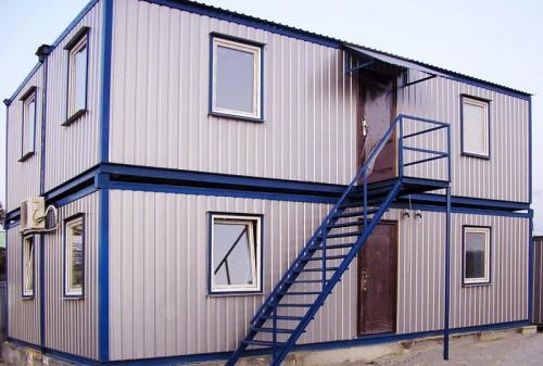 Модульный 2 этажный офис.