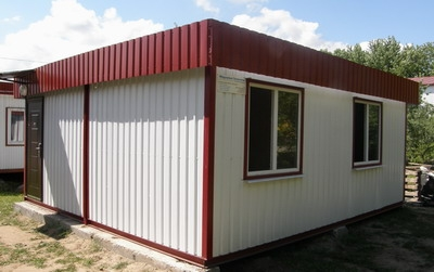 Модульный дом - Здание пригодно для постоянного проживания. от 1800 грнм.кв.