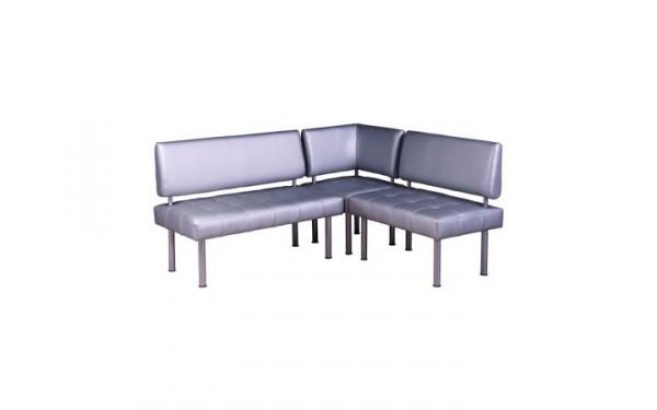 Модульный угловой диван Моменто для офиса и залов ожиданий