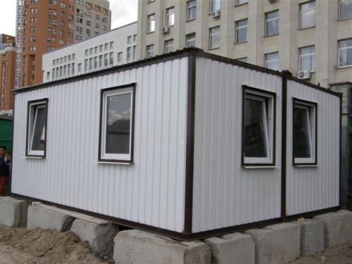 Модульное здание 50м.кв (офис)