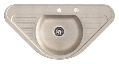 Мойка Duro - одна чаша и крыло Размеры: 940x470x190 мм. Размеры чаши: 400x340x180 мм. Минимальный размер шкафа: 50 см.