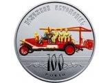 Фото  1 Монета 100 лет пожарному автомобилю Украины 1879187