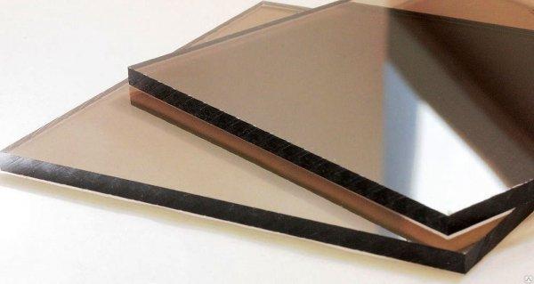 Фото 4 Монолитный поликарбонат SOTON SOLID 2-10 мм (бесцветный/бронзовый) 341645