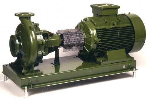 Моноблочные насосы с удлиненной муфтой Saer серии NCB, NCBZ, NCBT