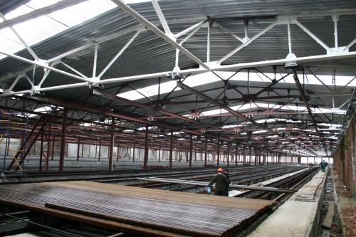 Монтаж будівель та споруд з металоконструкцій: склади, промислові будівлі, ангари, мийки тощо