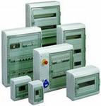 Монтаж электрощита накладного на 36 модулей