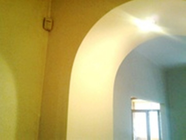 Монтаж гипсокартона в Киеве арки Шпаклевка и покраска